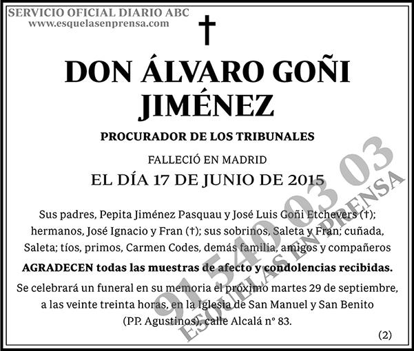 Álvaro Goñi Jiménez